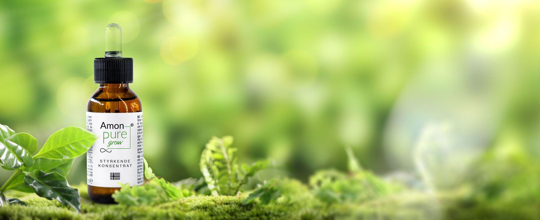 Pure Grow Konsentrat motvirker hårtap